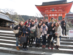 Students from Shanghai on a 3-week exchange to Osaka City University image No.3