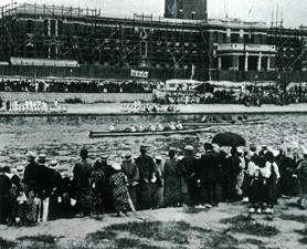 The boat race in 1914