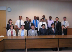 JICA training program courtesy visit