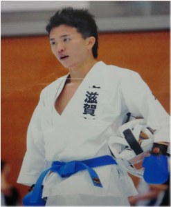 Takeshi Yamashita (OCU Faculty of Economics) reached 9th place in the men's individual lightweight class at the 67th National Sports Festival of Japan, taking place in Gifu from 6 to 8 October.