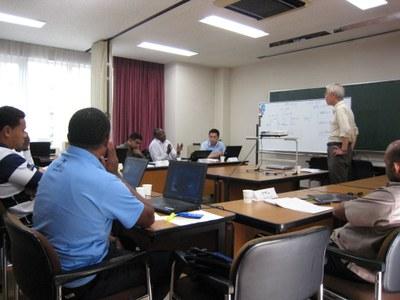 JICA training 2012