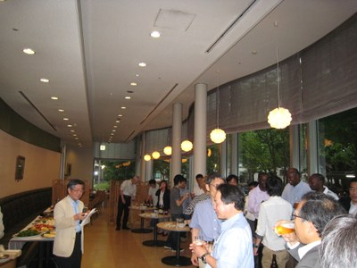 JICA welcome party 2012