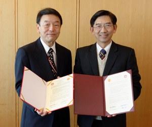 タイ タマサート大学と大学間協定並びに部局間協定を締結