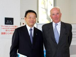 Dr Nishizawa and Dr Nobel