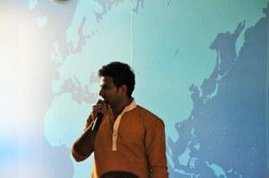 Indian day organizer Vinayraj