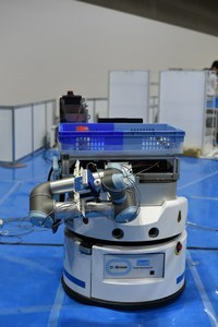 A robot with four fingers<br />Production preparation started in April.
