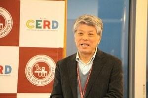 Introduction of the Center by<br />Professor Muneki Mitamura, Director of CERD