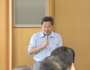Lecture by Professor Horiguchi