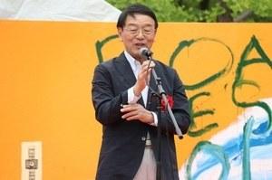 Opening address by Chairperson Nishizawa