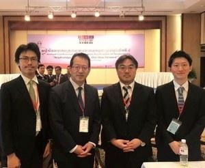 OCU members dispatched in 2019<br />Dr. Nishide, Associate Professor Uchida,<br />Lecturer Naganuma, Dr. Yamaguchi