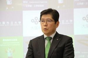 Takeshi Nagasaki, Dean,<br />Graduate School of Engineering, OCU