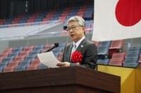 Mr. Takeshi Kagita,<br />Deputy Mayor of Osaka
