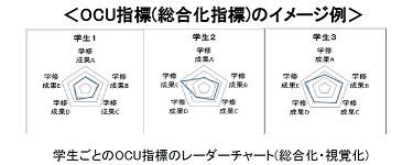OCUレーダーチャートイメージ図