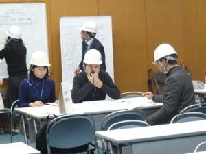 H28災害対策本部訓練風景⑥