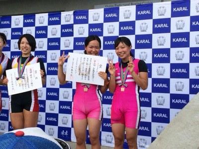 女子ダブルスカル 関西選手権