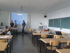 休み時間の教室
