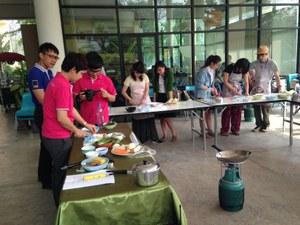タイ料理実習