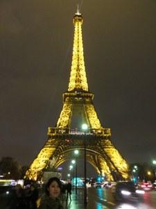 フランスにて
