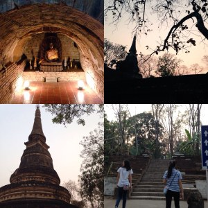 大学近くの寺院