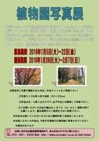 理学部附属植物園「植物園写真展」(1/26~2/7)
