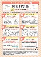 第13回 女子中高生のための関西科学塾