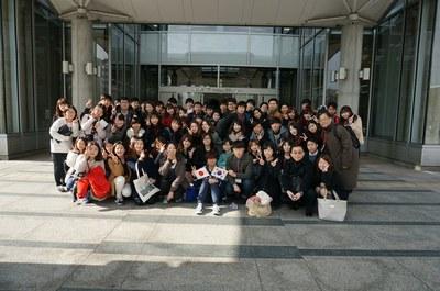 韓国青年訪日研修団が本学を訪問しました