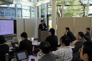 上海大学 馬利中教授による来賓挨拶