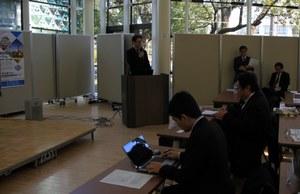 櫻木副学長による主催者挨拶