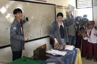 奥田さん(左)と日比野さん(右)