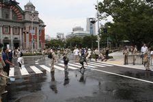 水都大阪2009関連イベント「打ち水大作戦」に工学研究科が参加