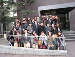 研修団の韓国人学生14名のみなさん