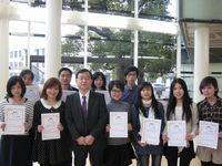 上海からの短期語学研修生が帰国の途へ