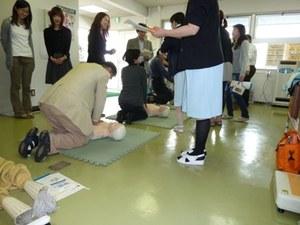 杉本キャンパス全学防火・防災総合訓練06