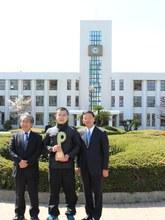 日本新聞協会「HAPPY NEWS PERSON」で本学留学生が表彰されました