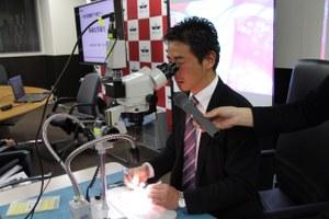 極細血管縫合体験