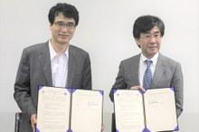 韓国外国語大学校と大学間学術交流協定を締結しました