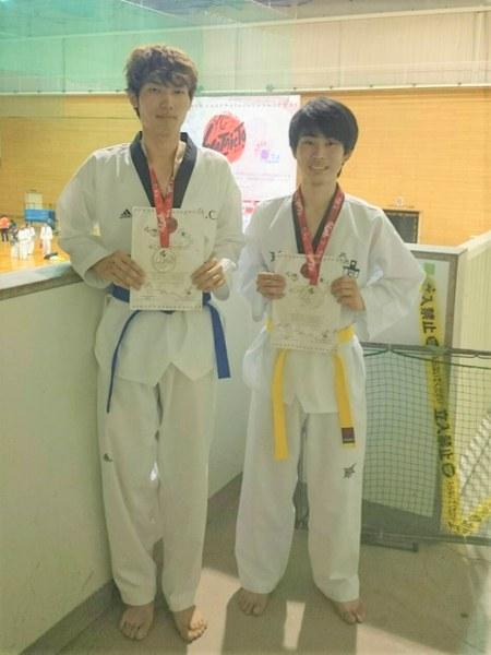 左:太田垣 駿さん、右:田中 一気さん