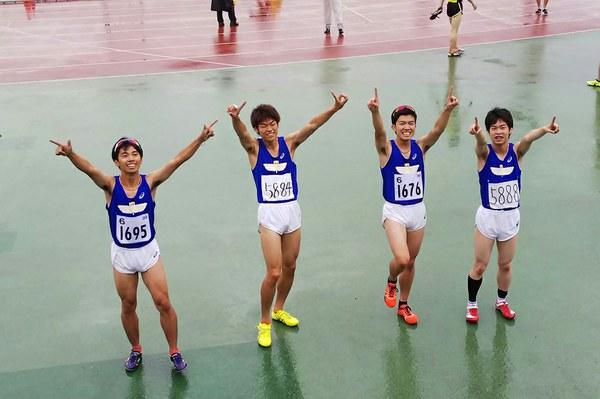 左から:矢守志穏さん、角本拓也さん、首藤太志さん、松岡俊佑さん