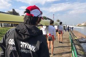 全日本新人選手権 出漕準備