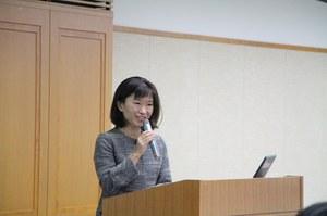 大阪市経済戦略局 和田 彩氏による講演 「女性のリーダーシップ  姉妹都市シカゴの事例より」