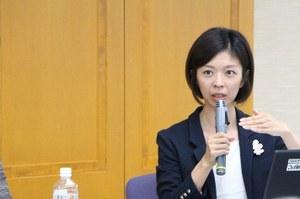 本学女性研究者支援室の岩田 千栄美特任助教