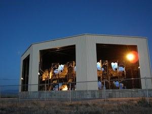 米国ユタ州にあるテレスコープアレイ実験施設