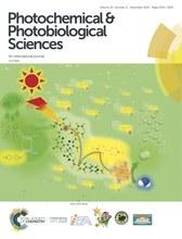 人工光合成研究センター 天尾所長の論文がPhotochemical & Photobiological Sciences(2019年11月号)のInside front coverを飾りました
