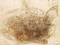 図1 ダ・ヴィンチが描いた乱流のスケッチ