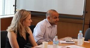 左からDr. Kelsey Paske、Dr. Kevin Coutinho