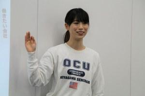 4年生 谷上恵海さん