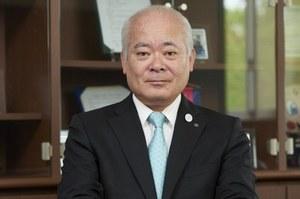 学長 荒川哲男<br> Tetsuo Arakawa President</br>