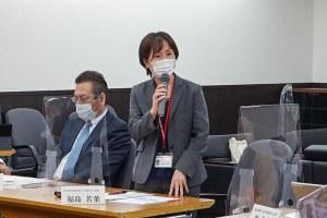 福島 若葉医学部広報委員長