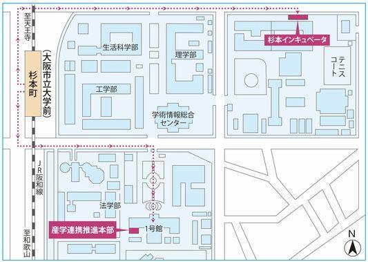 shinsan map