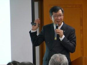 新藤教授による講演